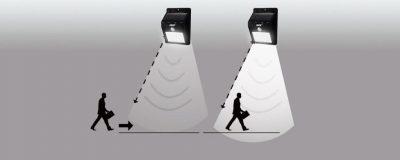 Как работает фонарь с датчиком движения?