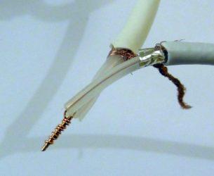 Как нарастить коаксиальный кабель?
