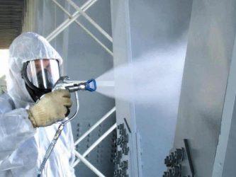Огнезащита металлических конструкций технология