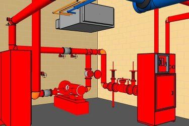 Внутренний пожарный водопровод требования к трубе