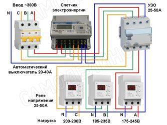 Защита от перенапряжения сети 380в